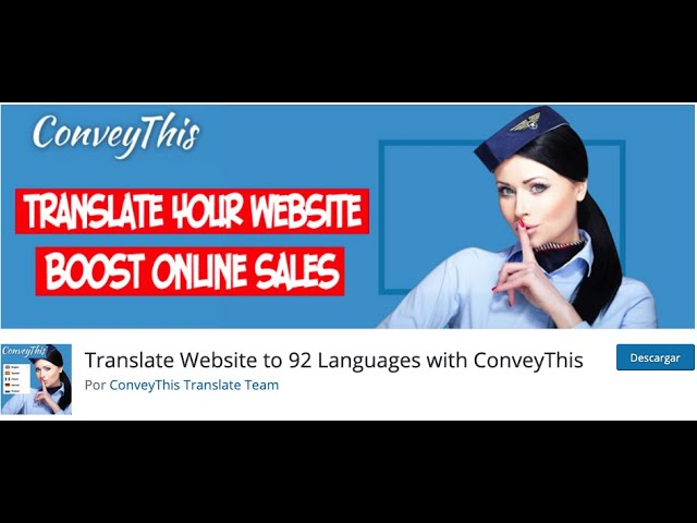 ConveyThis in Spanish