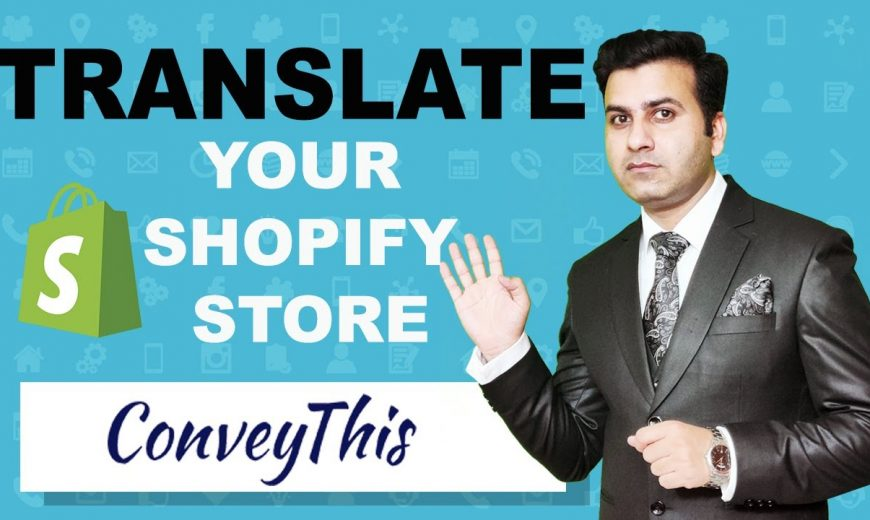 Translate Shopify Store in Hindi
